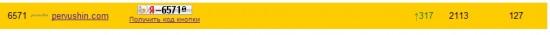 Позиции в рейтинге Яндекс.Блогов после проведения рекламной кампании