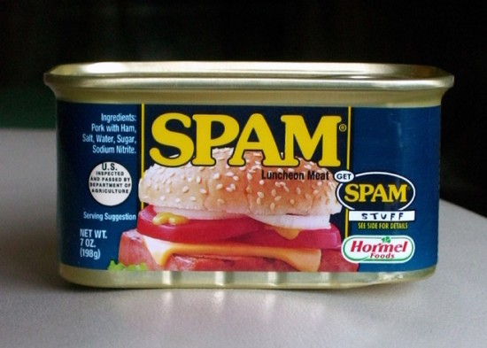 95% всех сообщений, которые приходят на электронную почту – это спам
