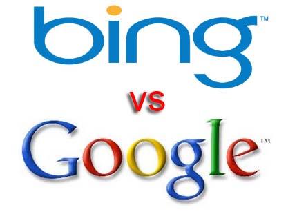 В США Google сдает позиции MS Bing