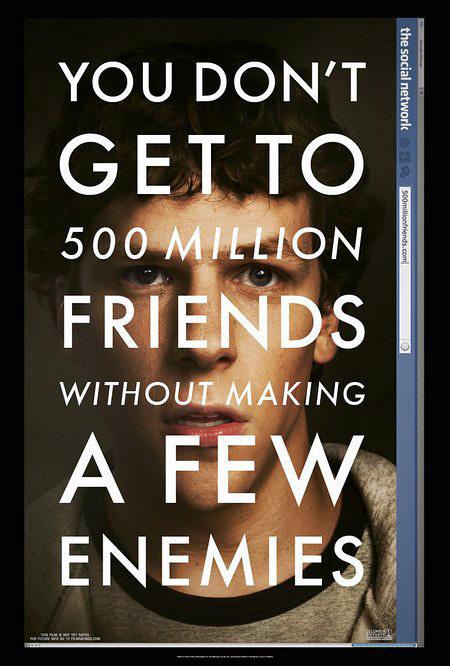 Обложка фильма Социальная сеть
