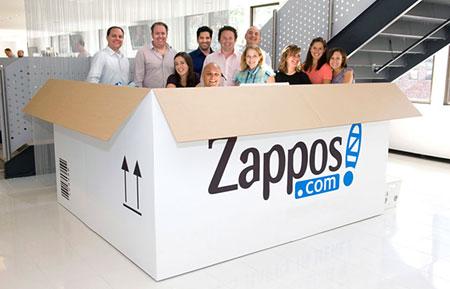 Дружная команда Zappos