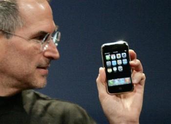 Сенсорный мобильный телефон iPhone