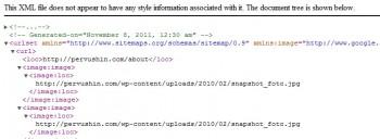 Файл карты сайта картинок Sitemap-image.xml