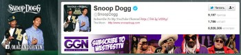 Рэпер Снуп Дог (@SnoopDogg), у которого 6,9 млн поклонников зарабатывает в среднем 8 тысяч баксов