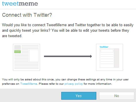 Подсоединиться к твиттеру?