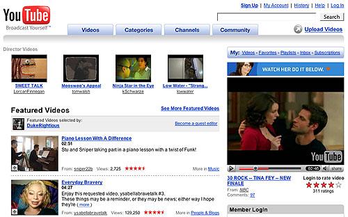 Перспективы сервиса Youtube