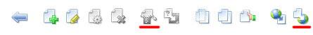 Панель управления файлами в ISPmanager