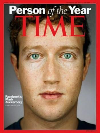Журнал Time просто назвал Цукерберга «человеком 2010 года»