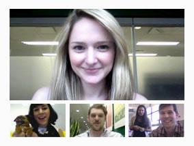 Видеовстреча в google+