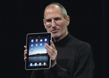 Стив Джобс представляет Apple iPad. 2010 год.