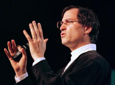 Стив Джобс выступает на MacWorld. 1997 год.