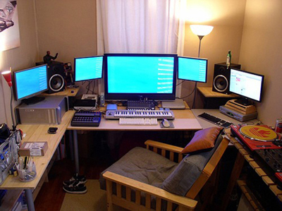 Рабочее место композитора