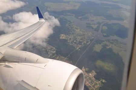 В небе у Москвы