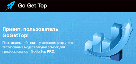 GoGetTop Pro - вечные ссылки в рассрочку для профессионалов
